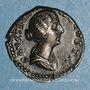 Monnaies Faustine jeune, épouse de Marc Aurèle (175). Denier. Rome, 157-161. R/: la Concorde