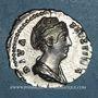 Monnaies Faustine mère, épouse d'Antonin († 141). Denier. Rome, après 147. R/: Cérès