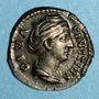 Monnaies Faustine mère, épouse d'Antonin le Pieux († 141). Denier. Rome, après 147. R/: Cérès