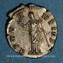 Monnaies Faustine mère, épouse d'Antonin le Pieux († 141). Denier. Rome, après 147. R/: Junon