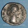 Monnaies Faustine mère, épouse d'Antonin le Pieux († 141). Denier. Rome, après 147. R/: L'Eternité