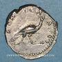 Monnaies Faustine mère, épouse d'Antonin le Pieux († 141). Denier. Rome, après 147. R/: Paon