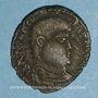 Monnaies Frappes barbares (2e moitié du 4e siècle). Maiorina. R/: l'empereur