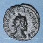 Monnaies Frappes barbares (vers 270-275). Antoninien. Buste radié de Tétricus I. R/: la Paix