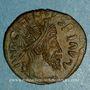 Monnaies Frappes barbares (vers 270-275). Antoninien. Buste radié de Tétricus I. R/: personnification