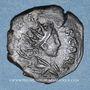 Monnaies Frappes barbares (vers 270-275). Antoninien. Buste radié de Tétricus II à dr. R/: personnification