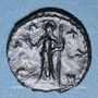 Monnaies Frappes barbares (vers 270-275). Antoninien. Buste radiée de Tétricus I. R/: la Paix