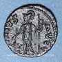 Monnaies Frappes barbares (vers 270-275). Antoninien. Buste radiée de Tétricus I. R/: Mars debout à gauche