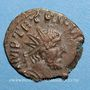 Monnaies Frappes barbares (vers 270-275). Antoninien. R/: la Joie