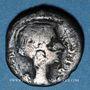 Monnaies Fulvie, 2e épouse de Marc Antoine († 40 av. J-C). Quinaire. Lyon, 42 av. J-C