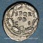 Monnaies Galba (68-69). Denier. Rome, 68. R/: SPQR / OB / CS dans une couronne de chêne