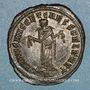 Monnaies Galère Maximien, césar (293-305). Follis. Carthage, 1ère officine. 298-303. R/: Carthage