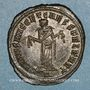 Monnaies Galère Maximien, césar (293-305). Follis. Carthage, 4e officine. 298-303. R/: Carthage