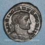 Monnaies Galère Maximien, césar (293-305). Follis. Londres, vers 303. R/: Génie