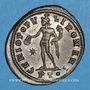 Monnaies Galère Maximien, césar (293-305). Follis. Ticinum, 2e officine.  298-299. R/ Génie