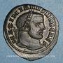 Monnaies Galère Maximien, césar (293-305). Follis. Ticinum, 3e officine, 300-303. R/: la Monnaie