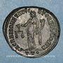 Monnaies Galère Maximien, césar (293-305). Follis. Ticinum, 3e officine.  300-303. R/: la Monnaie