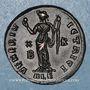 Monnaies Galéria Valéria, 2e épouse de Galère. Follis. Alexandrie, 2e officine. 308. R/: Vénus