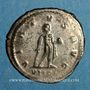 Monnaies Gallien (253-268). Antoninien. Antioche, 226-267. R/: Hercule