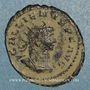 Monnaies Gallien (253-268). Antoninien. Antioche, 264. R/: l'Equité