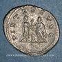 Monnaies Gallien (253-268). Antoninien. Atelier syrien incertain, 256-258. R/: Valérien et Gallien