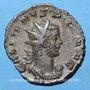 Monnaies Gallien (253-268). Antoninien. Cologne, 257-258. R/: Victoire