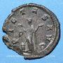 Monnaies Gallien (253-268). Antoninien. Milan, 1ère officine, 264-266. R/: la Piété