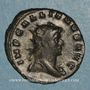 Monnaies Gallien (253-268). Antoninien. Milan, 1ère officine. 265-266. R/: Esculape