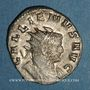 Monnaies Gallien (253-268). Antoninien. Milan, 260-261. R/: taureau