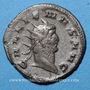 Monnaies Gallien (253-268). Antoninien. Milan, 264-26. R/: Diane debout à dr. R !