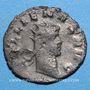 Monnaies Gallien (253-268). Antoninien. Milan, 264-265. R/: Apollon