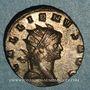 Monnaies Gallien (253-268). Antoninien. Milan, 266-267. R/: la Providence