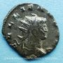 Monnaies Gallien (253-268). Antoninien. Milan, 3e officine, 267-268. R/: le Soleil