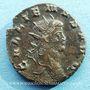 Monnaies Gallien (253-268). Antoninien. Rome, 10e officine, 267-268. R/: cerf