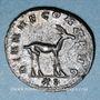 Monnaies Gallien (253-268). Antoninien. Rome, 11e officine, 267-268. R/: antilope