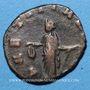 Monnaies Gallien (253-268). Antoninien. Rome, 253-255. R/: la Joie debout à gauche