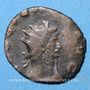 Monnaies Gallien (253-268). Antoninien. Rome, 253-255. R/: la Joie