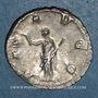 Monnaies Gallien (253-268). Antoninien. Rome, 253-255. R/: la Paix