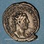 Monnaies Gallien (253-268). Antoninien. Rome, 256-257. R/: la Providence