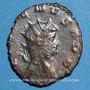 Monnaies Gallien (253-268). Antoninien. Rome, 264-265. R/: Jupiter