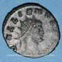 Monnaies Gallien (253-268). Antoninien. Rome, 2e officine, 253-255. R/: panthère
