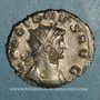 Monnaies Gallien (253-268). Antoninien. Rome, 3e officine. 263. R/: la Paix