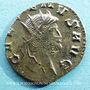 Monnaies Gallien (253-268). Antoninien. Rome, 4e officine, 267-268. R/: griffon