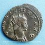 Monnaies Gallien (253-268). Antoninien. Rome, 6e officine, 267-268. R/: chèvre