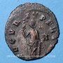 Monnaies Gallien (253-268). Antoninien. Rome, 8e officine, 265-267. R/: la Sécurité