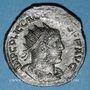 Monnaies Gallien (253-268). Antoninien. Syrie, atelier incertain, 255-256. R/: Valérien et Gallien