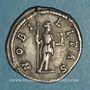 Monnaies Géta, césar sous Septime Sévère et Caracalla (198-209). Denier. Rome, 199. R/: la Noblesse debout