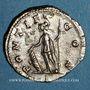 Monnaies Géta, césar sous Septime Sévère et Caracalla (198-209). Denier. Rome, 207. R/: Pallas