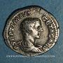Monnaies Géta, césar sous Septime Sévère et Caracalla (198-209). Denier. Rome, 208. R/: Génie nu, debout à g.