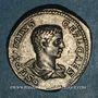 Monnaies Géta, césar sous Septime Sévère et Caracalla (198-209). Denier. Rome, 208. R/: Génie